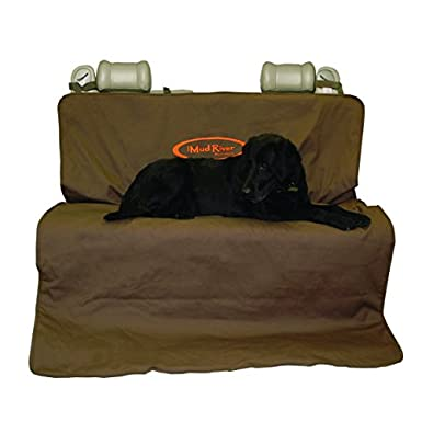 Mud River Two Barrel Double Seat Cover - Standard Regular/56-Inch X 68-Inch MR7771