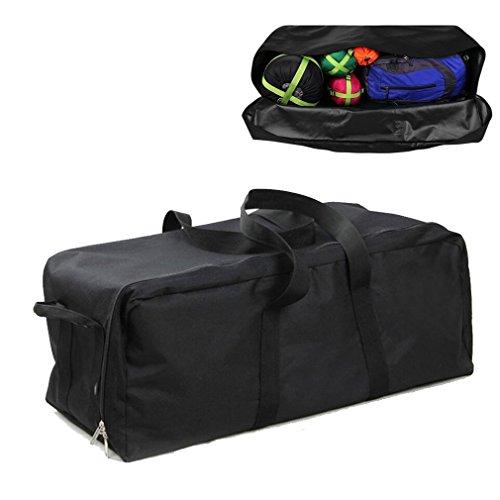 Buwico Lightweight Waterproof Heavy Duty Duffel Gear Bag Camping Big Equipment Bag Sport Oversized Travel Huge Rack Bag (L)