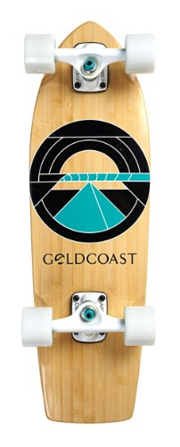Madrid Cruiser Skateboard (GoldCoast Skateboard - Complete Longboard - Beacon Cruiser 26