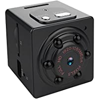 Biáng SQ9-Mini Camera 1080P Portable Small Cam with Night Vision, Perfect Indoor Security Camera for Home and Office