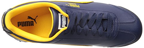Puma - Zapatillas para hombre Peacoat/Gold Fusion