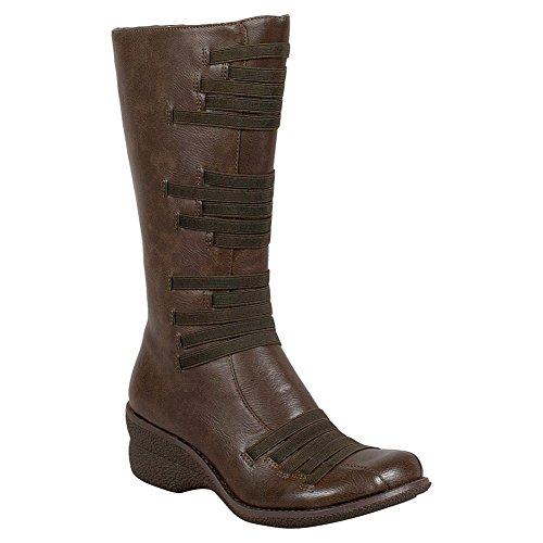 Miz Mooz Orso Womens Boot A Metà Polpaccio Kaki