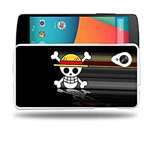 Case88 Designs One Piece Protective Snap-on Hard Back Case Cover for LG Nexus 5