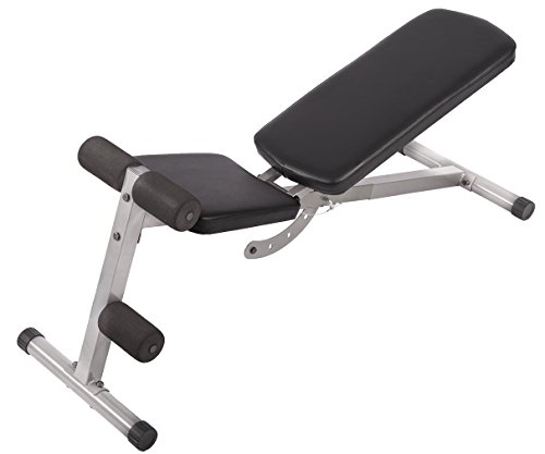 PayLessHere Incline Sit Up Bench Foldable Adjustable Workout Fitness Equipment W/AB Bench by PayLessHere