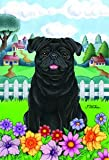 Cheap Pug Black – Tomoyo Pitcher Spring Garden Flag