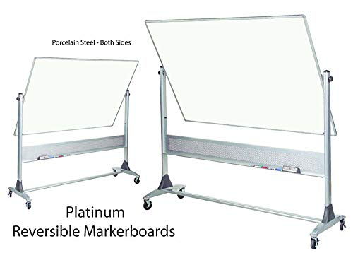 Best-Rite Platinum Reversible Boards (Porcelain Steel Both Sides) 4'H x 6'W ()