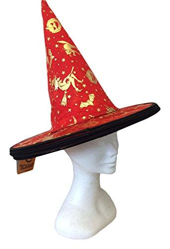 Joker jh028-r Witch Hat-Halloween, Red]()