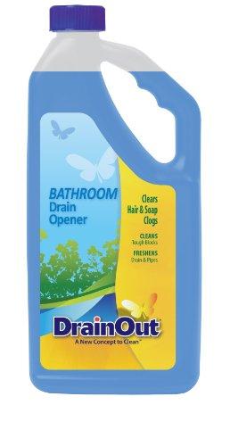 32 Bottle Opener Drain Oz - DrainOUT Bathroom Drain Opener, 32 Fl. Oz. Bottle