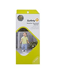 Safety 1st Kids Safety Railnet for Indoor Balconies and Outdoor Decks, Extends up to 10', White BOBEBE Online Baby Store From New York to Miami and Los Angeles