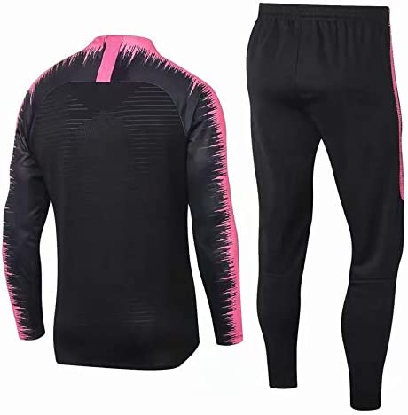 Ensemble Survetement PSG Noir et Rose vaporknit Collection 2019//2020