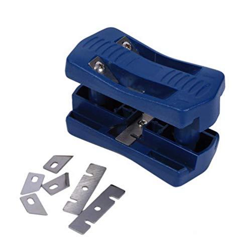 Wood Edge Trimmer, Edge Banding Machine, Veneer Manual Decoration Handle Curved Planer Tool Banding Trimmer (Cordless Banding Tool)