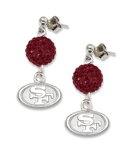 NFL San Francisco 49ers LogoArt Ovation Earrings