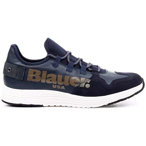 Linguetta Uomo In Blauer E Tessuto Pelle Con 8fmiami03 Camoscio Sneakers Grey ZWznFBwzg