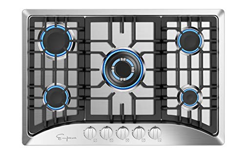gas stove stainless steel 3 burner