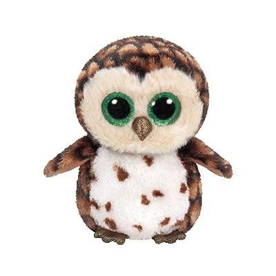 Ty Sammy Owl Plush, Brown, Regular: Toys & Games