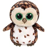 Ty Sammy Owl Plush, Brown, Regular