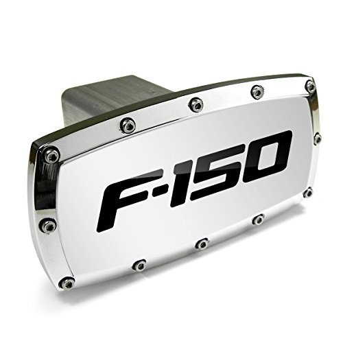 Ford F-150 Billet Aluminum Tow Hitch Cover by Ford CarBeyondStore