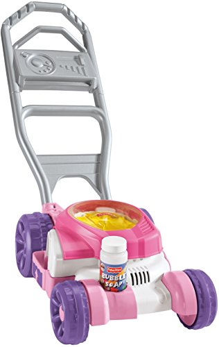 Fisher Price Bubble Mower, Pink -