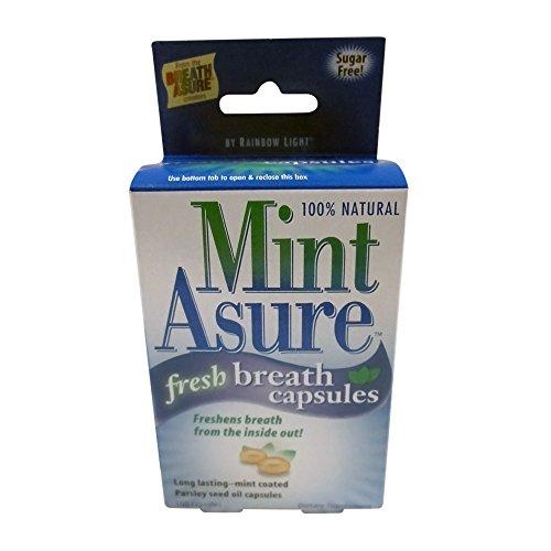 Rainbow Light Mint Asure Fresh Breath, 160-Count Capsules (Pack of 3) (Rainbow Mint)