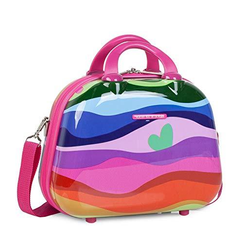 Agatha Ruiz De La Prada Waves Travel Toiletry Bag, 35 cm, 5 Litres, Fuchsia