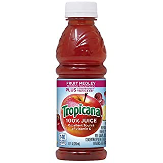 Tropicana Juice, Fruit Medley, 10 Ounce (Pack of 15)