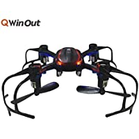 MJX X902 2.4G Mini RC Drone Quadcopter 6 Axle cool Helicopter With Led Light for Night Flight