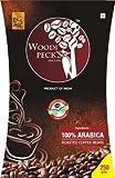 Woodi Pecks Arabica Roasted Coffee Beans, 250 Grams