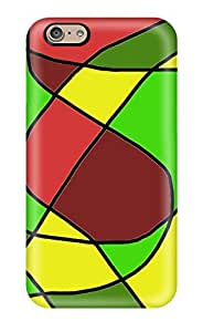Premium [ELGNElv5747RpQJo]funky Retro Abstract Case For Iphone 6- Eco-friendly Packaging