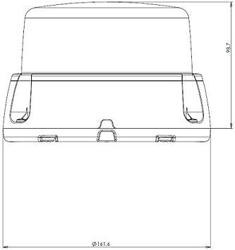 Led Martin R65 Brilar Design Rundumkennleuchte Klar Gelb Bis 250 Km H Auto