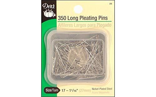 Dritz(R) Pleating Pins 1 Inch 350/pkg