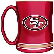 NFL San Francisco 49ers Sculpted Mug, 14-Ounce