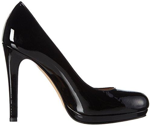 col Nero Tacco Pump Donna Scarpe Chiusa Punta 10 Schwarz Evita Shoes tpSwqqT
