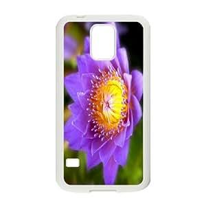 Custom Case Water lilies flower For Samsung Galaxy S5 Q3V742865