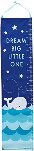 DEMDACO Whale Growth Chart with (Baby Whale Charm)
