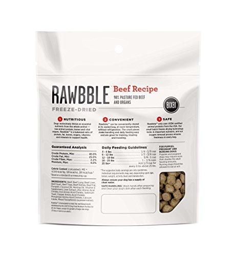 BIXBI-Rawbble-All-Natural-Freeze-Dried-Dog-Food-Beef-2-Ounce