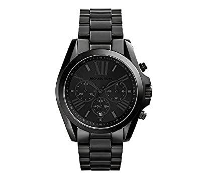 Michael Kors Men's Bradshaw Blacktone Chronograph Watch from Michael Kors