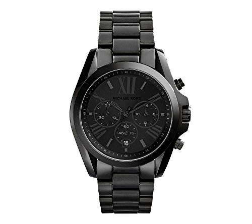 Michael Kors Men's Bradshaw Blacktone Chronograph Watch