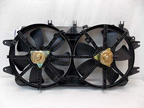 (Sunbelt Radiator And Condenser Fan For Mazda 626 MA3115114 Drop in Fitment)