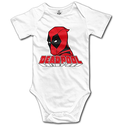SAMMOI Dead 2 Pool Baby Jumpsuit Romper Climbing Clothes White