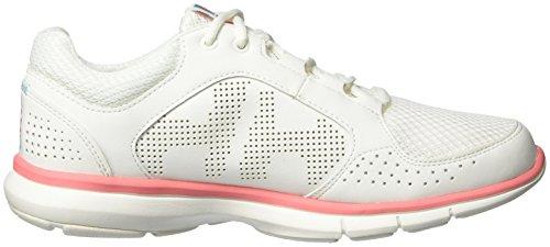 Helly Hansen Frauen W Ahiga V3 Wasserkraft Mode Sneaker Aus Weiß, Shell Pink