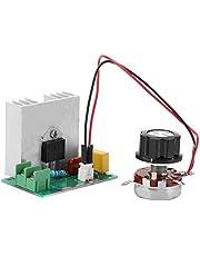Regulador de Voltaje del Controlador de Velocidad del Motor, Regulador de Voltaje del Controlador de Velocidad del Motor con Protección Múltiple AC 0-220V 4000W 40A CA