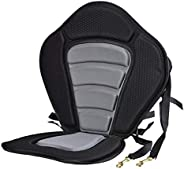 freneci Comfortable Kayak Seat Padded Canoe Backrest Seat Sit on Top Cushioned Back Support Pad with Back Stor