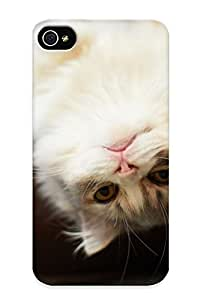 Hot Cute Kitten First Grade Tpu Phone Case For Iphone 4/4s Case Cover