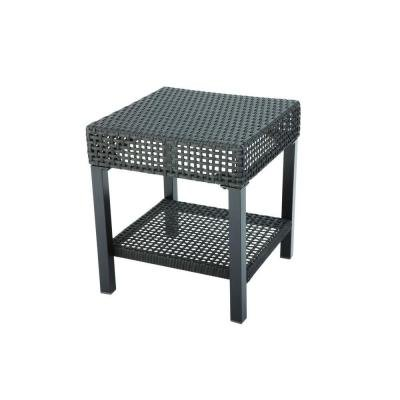 Hampton Bay Fenton D9131-TS Heavy-duty Steel Frame Patio Side Table