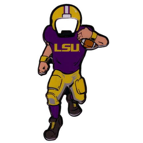Game Day Outfitters NCAA LSU Tigers Magnetic Metal Bottle Opener, One Size, Multicolor
