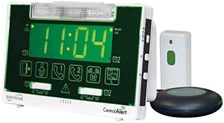 Serene Innovations CentralAlert CA-360 Clock Receiver Notification System