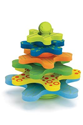 Skip Hop Starfish Stay Put Stacker Bath Toy by Skip Hop