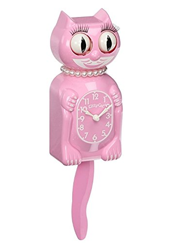 - The Original New Edition Kitty Cat Klock (Clock) Miss Kitty Cat Limited Edition - Pink