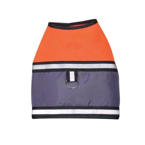 Zack & Zoey Mesh Harness Vest Orange Safety Reflective SIZE SMALL