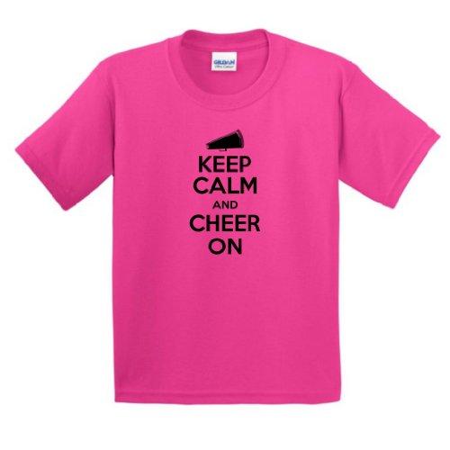 Keep Calm Cheer Youth T Shirt